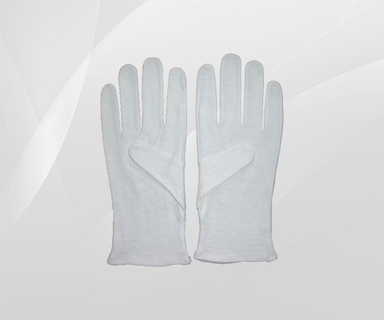 White Waiter's Gloves